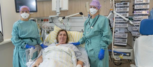 Antivirales Medikament gegen COVID-19 erstmalig am Uniklinikum erfolgreich eingesetzt