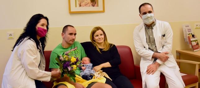 Fritz ist das 1.000. Uniklinikums-Baby des Jahres