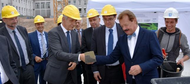 Grundsteinlegung für Neubau des Nationalen Centrums für Tumorerkrankungen (NCT) Dresden