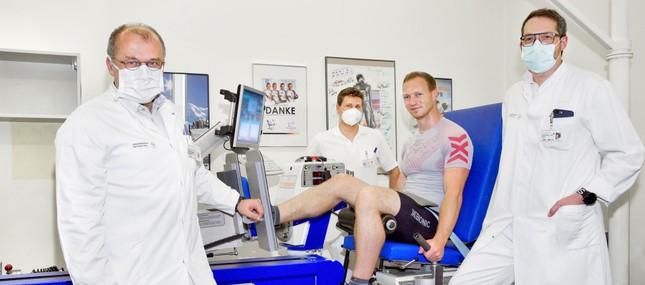 Innovatives Kraftgerät im Uniklinikum unterstützt Olympioniken und weitere Sportler