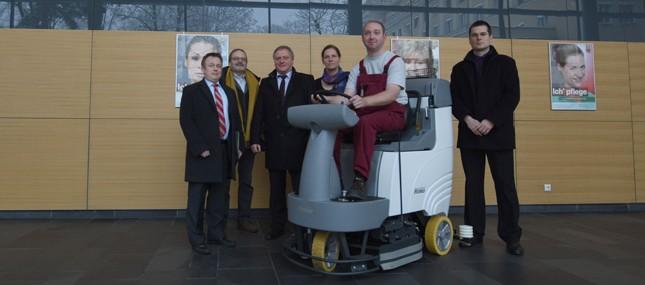 Mit vereinten Kräften Arbeitsplätze für Menschen mit Behinderungen schaffen