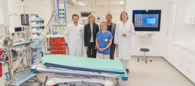 Neue Chirurgische Notaufnahme öffnet am Universitätsklinikum
