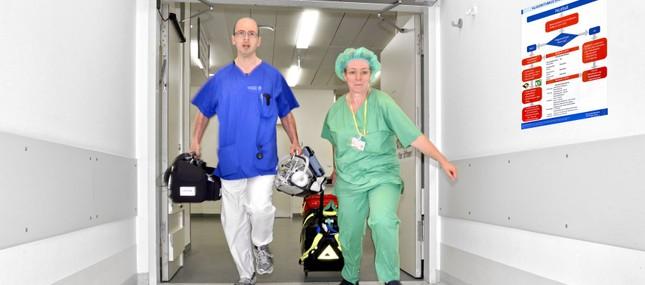 Notfallteams retten Leben nach innerklinischem Kreislaufstillstand