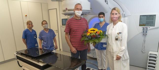 Patientenversorgung mit neuem Linearbeschleuniger gestartet
