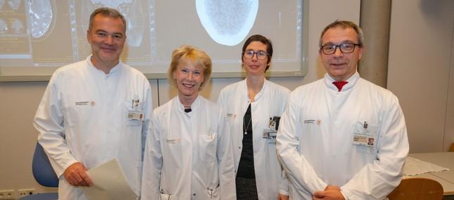 Qualitätssiegel für Dresdner Schädelbasiszentrum