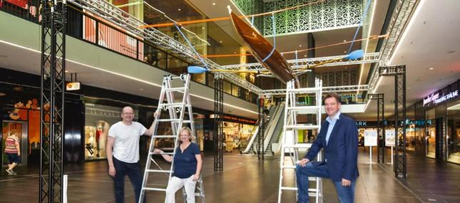 Rudern gegen Krebs: Aktionstag wirbt am 8. September in der Centrum Galerie Dresden für 100. Benefizregatta