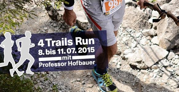 Spendensammlung - Dresdner Professor läuft vierfachen Marathon in den Alpen
