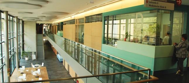 26. April 2012: Medizinische Klinik III zieht ins Diagnostisch-Internistisch-Neurologische Zentrum