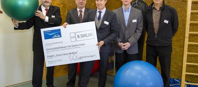 7. Dezember 2012: Linde Engineering Dresden finanziert Zirkusprojekt für junge Psychiatriepatienten