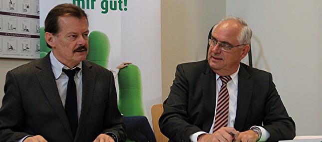 7. März 2012: Fit bleiben und zufrieden bis zur Rente arbeiten – Uniklinikum und AOK PLUS engagieren sich für ältere Mitarbeiter