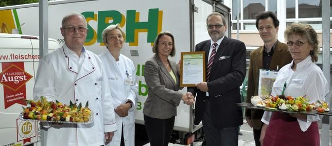 10. Juni 2013: Zur Top-Medizin gehört gesunde und ausgewogene Kost