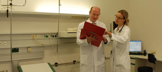 11. September 2013: Uni-Hautklinik wird nach Umzug heute offiziell eingeweiht