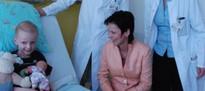 17. April 2013: Familiengerechte Zimmerausstattung lässt Klinikalltag ein wenig vergessen