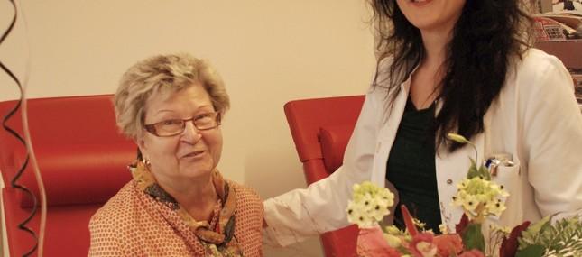 8. November 2013: Antikörpertherapie hält seit zehn Jahren Tumorzellen in Schach