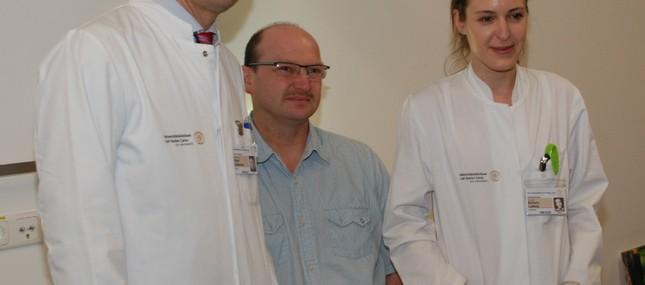 Interdisziplinäres Ärzteteam reimplantierte Unfallopfer körpereigene Inselzellen