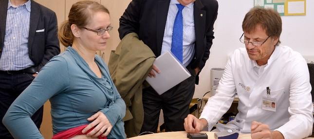 10. November 2014: Dresdner Spitzenmedizin braucht eine sichere Basis