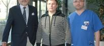 14. März 2014: Ukrainischer Patient heute aus dem Uniklinikum entlassen