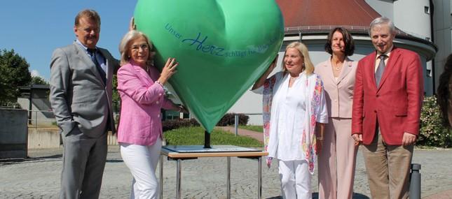 20. Mai 2014: Unser Herz schlägt für Sachsen - Benefizaktion wirbt bis 9. August für Spenden zugunsten der Tour der Hoffnung