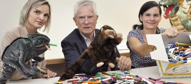 5. August 2014: Aus verbrauchten Stiften werden Therapiepuppen