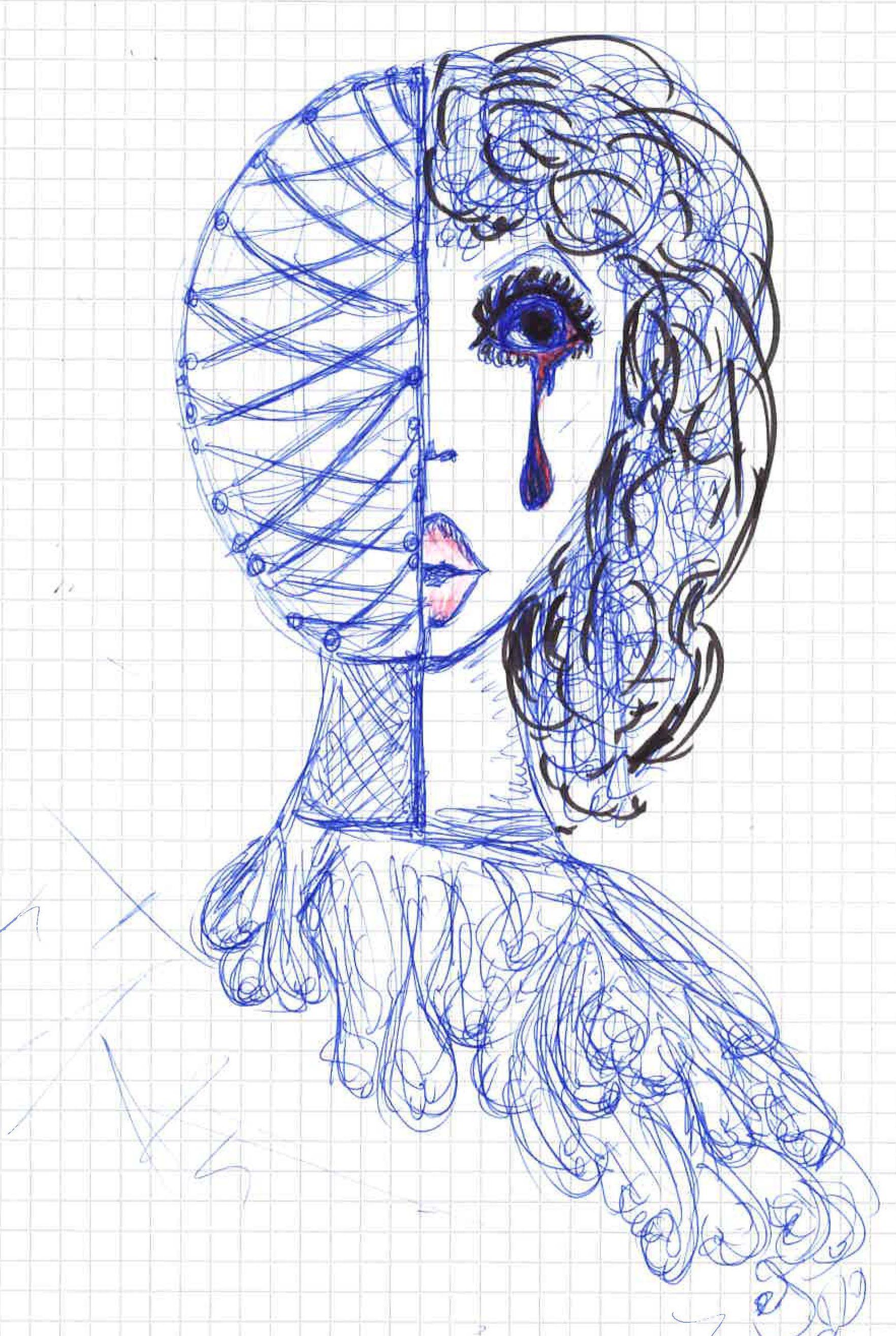 Bild einer Migränepatientin